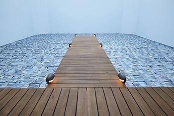 Vista de la sala de la exposición. Cildo Meireles, 2013. Museo Reina Sofía