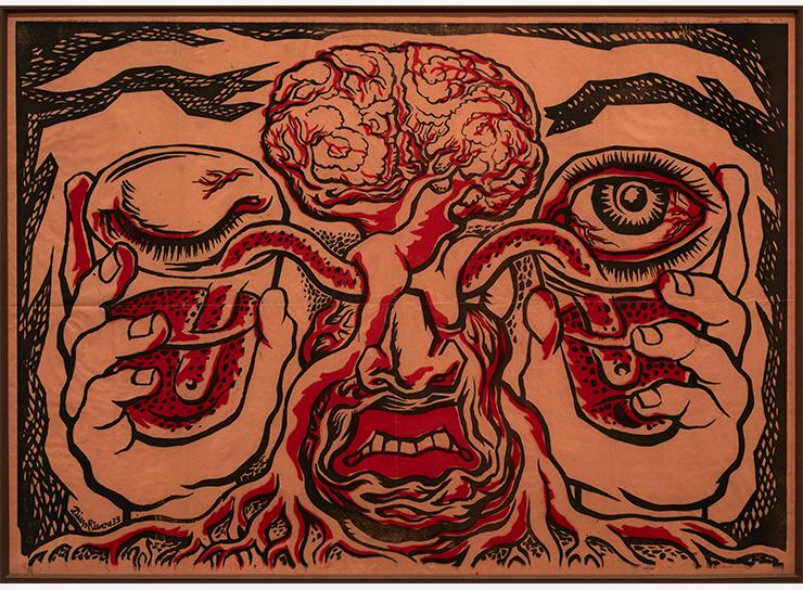 Diego Rivera, Les vases comunicants (Los vasos comunicantes), 1939