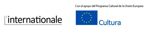 logo L'Internationale - Con el apoyo del Programa Cultural de la Unión Europea