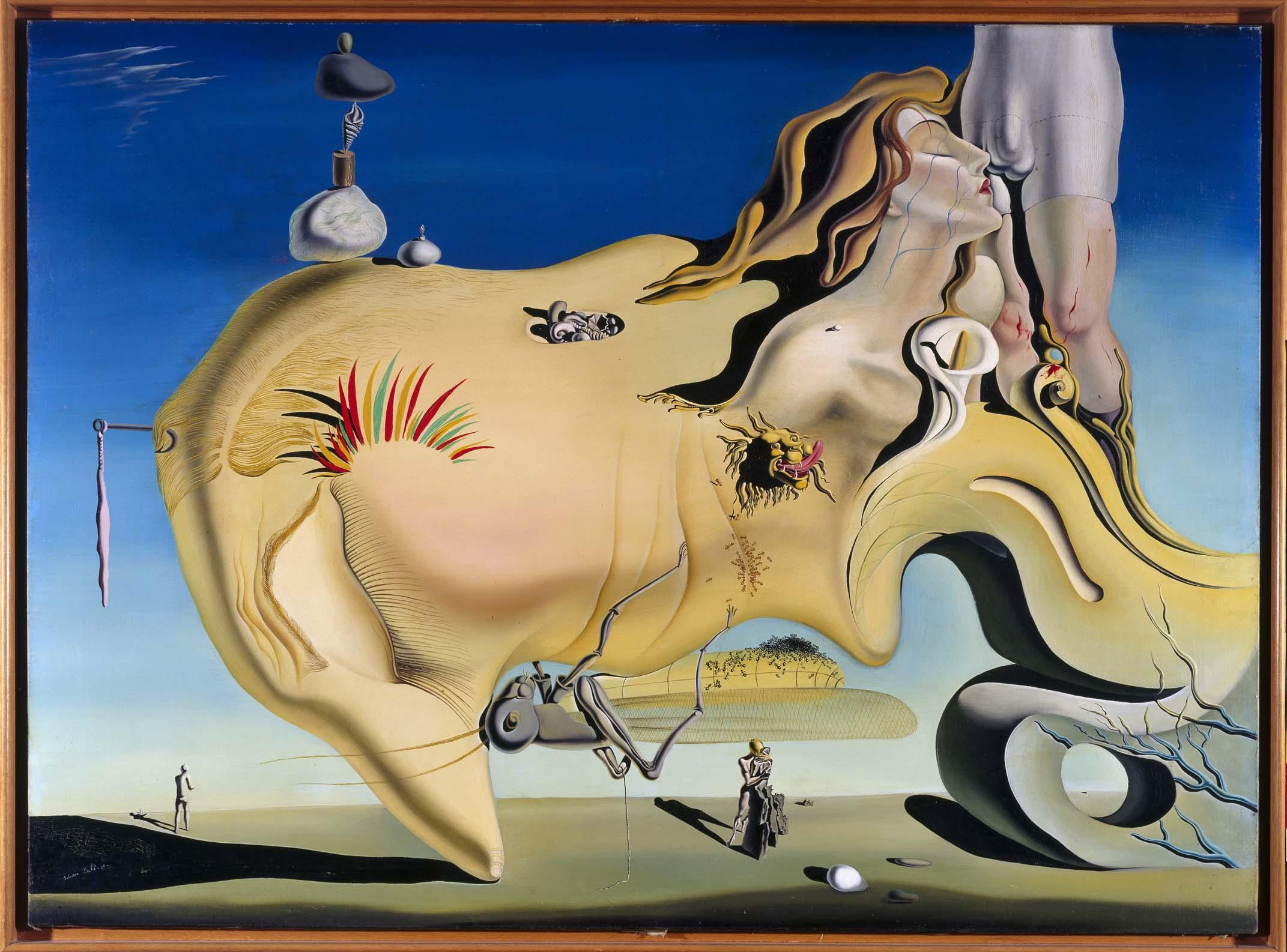 Salvador Dalí - Visage du Grand Masturbateur (Rostro del Gran Masturbador)