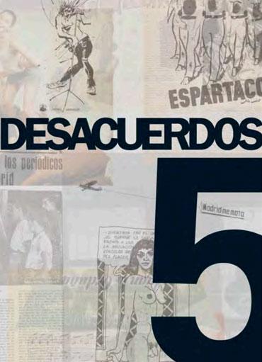 Portada de Desacuerdos 5. Sobre arte, políticas y esfera pública en el Estado español. Cuaderno 5.