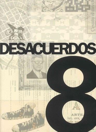Portada de Desacuerdos 8. Sobre arte, políticas y esfera pública en el Estado español. Cuaderno 8