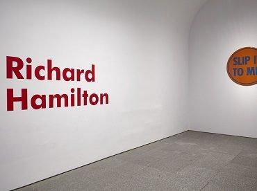 Vista de sala de la exposición Richard Hamilton