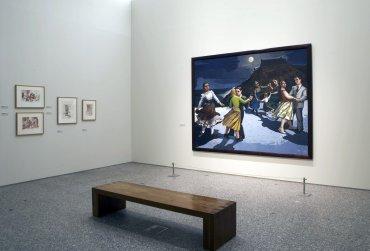 Vista de la exposición Paula Rego