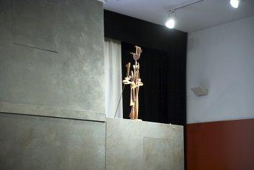 Representación teatral sobre obras seleccionadas para la actividad. Museo Reina Sofía, 2008.