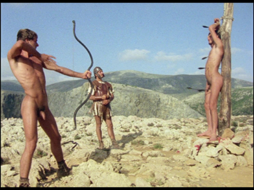Derek Jarman and Paul Humfress. Sebastiane. Film, 1976