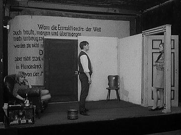 Jean-Marie Straub y Danièle Huillet. Der Bräutigam, die Komödiantin und der Zuhälter (El esposo, la actriz y el chulo). Película, 1968