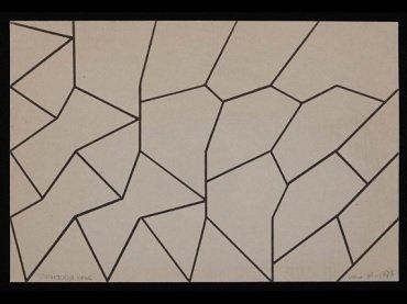 Elena Asins. Strukturen KV 46 (Estructures KV 46), 2009. Museo Reina Sofía Collection