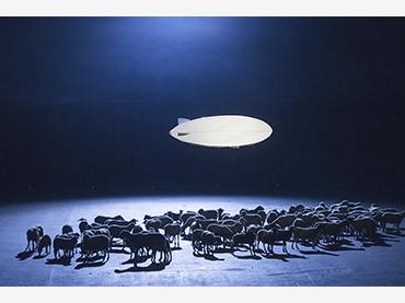 Heiner Goebbels. De Materie, a musical theatre piece by Louis Andriessen. Photograph: Wonge Bergmann, Ruhrtriennale Festival (2014). Courtesy of the author