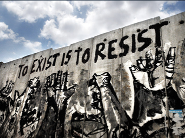 To Exist is to Resist. Tulkarem (Palestina), 2006. ©MAYSUN