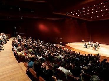 Vista del Edificio Nouvel, Auditorio 400, Museo Reina Sofía