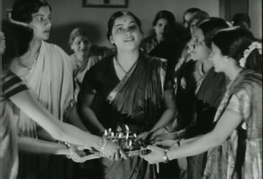imagen de Rajaram Vankudre Shantaram. Kunku, 1937. Copia procedente del National Film Archive of India, Pune