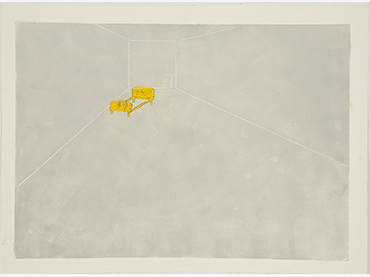 Mónica Alonso, Yellow Bed, 1993