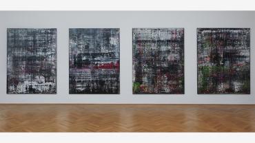 Gerhard Richter, Birkenau, 2014. Colección privada. Fotografía: Regine Mosimann