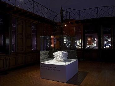 Vista de sala de la exposición Roberto Jacoby. El deseo nace del derrumbe