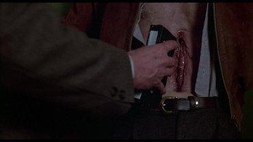 David Cronenberg. Videodrome. Film, 1983. David Cronenberg. Videodrome. Film, 1983. Courtesy of Video Profilmar