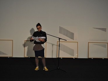 Itziar Okariz. Diario de Sueños. Performance, 2013