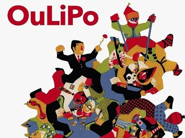 Cover of the book OuLiPo. Es un oficio de hombres (Autorretrato de hombres y mujeres en reposo) (It's a Man's Profession [A Self-portrait of Idle Men and Women]). La uÑa RoTa, 2015. Illustration by Daniel Montero Galán (detail)
