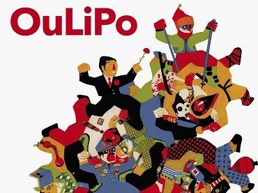 Portada del libro OuLiPo. Es un oficio de hombres (Autorretrato de hombres y mujeres en reposo). La uÑa RoTa, 2015. Ilustración de Daniel Montero Galán (detalle)