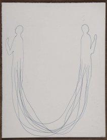 Pepe Espaliú. Sin título. Diez últimos dibujos, 1993. Drawing. Museo Nacional Centro de Arte Reina Sofía Collection, Madrid