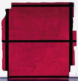 Rafael Canogar. Casa de los misterios, 1977. Pintura. Colección Museo Nacional Centro de Arte Reina Sofía, Madrid