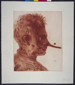 Miquel Barceló. Lanzarote I, 1999. Arte gráfico. Colección Museo Nacional Centro de Arte Reina Sofía, Madrid