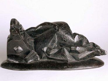 Henri Laurens. Femme à l'eventail (Mujer con abanico), 1919. Escultura. Colección Museo Nacional Centro de Arte Reina Sofía, Madrid