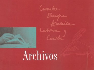 Cover of the catalogue of Archivos 1971-2002