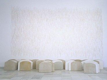 Carmen Calvo. Silencio, 1995. Installation. Museo Nacional Centro de Arte Reina Sofía Collection, Madrid