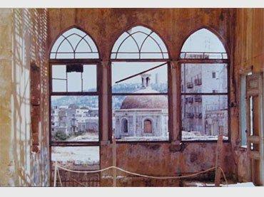 Amos Gitai. Fotografías de los decorados para la película Esther. 1984-1985