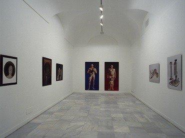 Vista de sala de la exposición. Aziz + Coucher. Quimeras e interiores, 1999