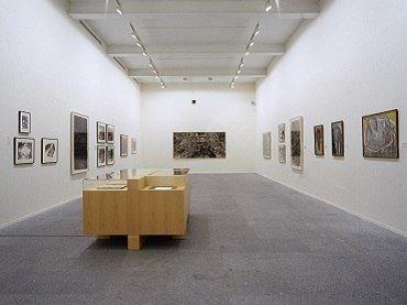 Exhibition view. Miquel Barceló. Obra sobre papel. 1979-1999, 1999