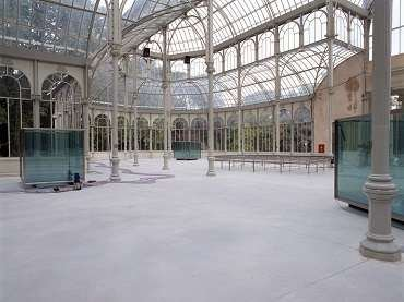 Vista de sala de la exposición. Per Barclay, 2003