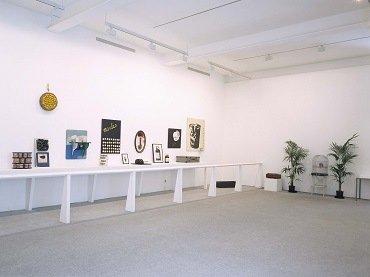 Vista de sala de la exposición. Marcel Broodthaers, 1992