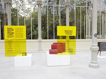 Vista de sala de la exposición Damián Ortega. El cohete y el abismo, 2016