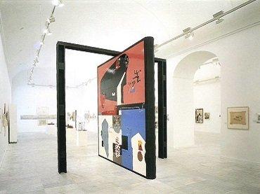 Vista de sala de la exposición. Le Corbusier (1887-1965), 1987