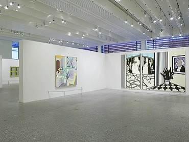 Exhibition view. Roy Lichtenstein. All about art, 2004