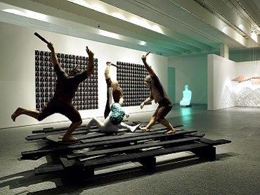 Exhibition view. Las tres dimensiones de El Quijote, 2005