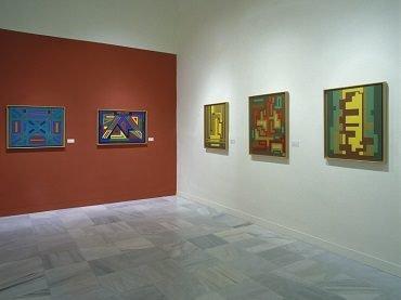 Vista de sala de la exposición. Jacinto Salvadó, 2002