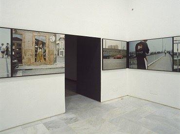Exhibition view. Augusto Alves da Silva. Una ciudad así / Carretera en obras, 1998