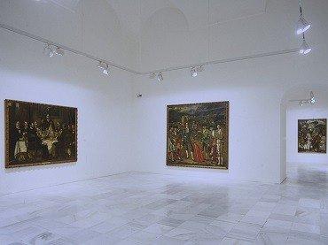 Exhibition view. José Gutiérrez Solana. Colección Banco Santander,