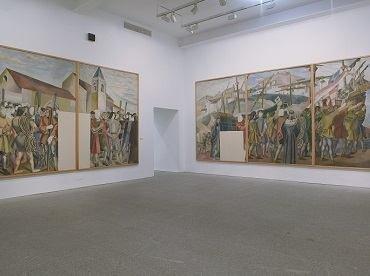 Vista de sala de la exposición. Daniel Vázquez Díaz, 1882-1969, 2004
