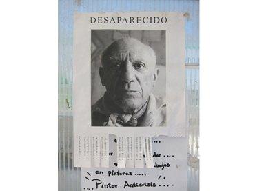 Rogelio López Cuenca. Sin título. Image from the project Ciudad Picasso, 2010.