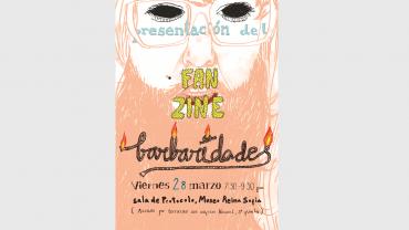 Arrate Rodríguez Martín, Barbaridades, lápiz, tinta y tratamiento digital, 2014. Cortesía de Arrate Rodríguez Martín