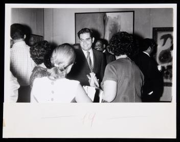 José Enrique Arrarás, Rector del Recinto Universitario de Mayagüez (RUM) de la Universidad de Puerto Rico. Archivo de la Revista de Arte (Mayagüez). Centro de Documentación