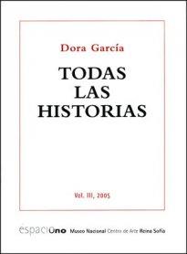 Dora García. Todas las historias. Vol. III