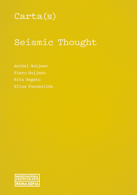 Cover of Carta(s). Seismic Thought