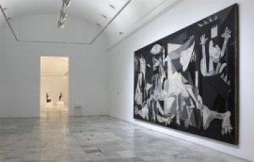Perspectiva de Guernica, 1937 de Picasso. Museo Reina Sofía, 2007