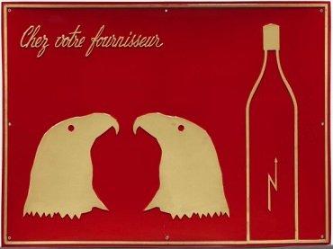 Marcel Broodthaers. Chez votre fournisseur / From you Supplier / Chez Votre Fournisseur (Le Vinaigre des Aigles), 1968