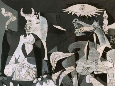 Pablo Picasso, Guernica (detalle), 1937. Museo Nacional Centro de Arte Reina Sofía. © Sucesión Pablo Picasso. VEGAP, Madrid